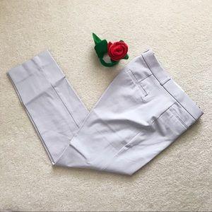 BRF | Gray Sloan Slim Fit Cropped Pant | Size 8
